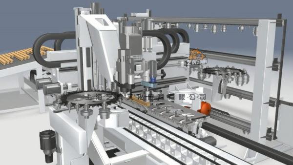 工业三维动画图